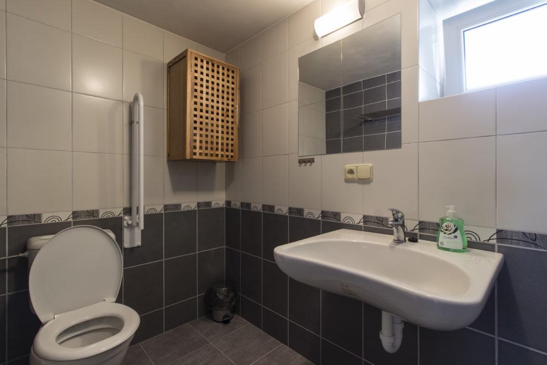 apartmán toaleta